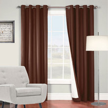 Chocolate Brown Curtains add some sophistication and style to your room