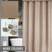 Latte Taupe Shower Curtain | Quickfit Blinds and Curtains