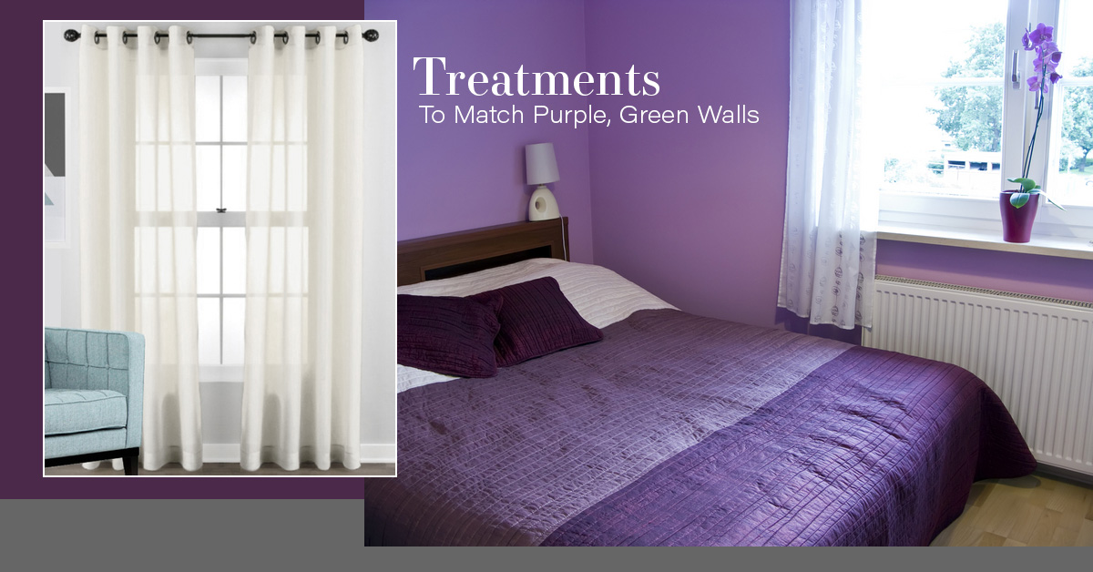 The Perfect Window Treatments To Match Purple Green Walls Quickfit Blinds And Curtains