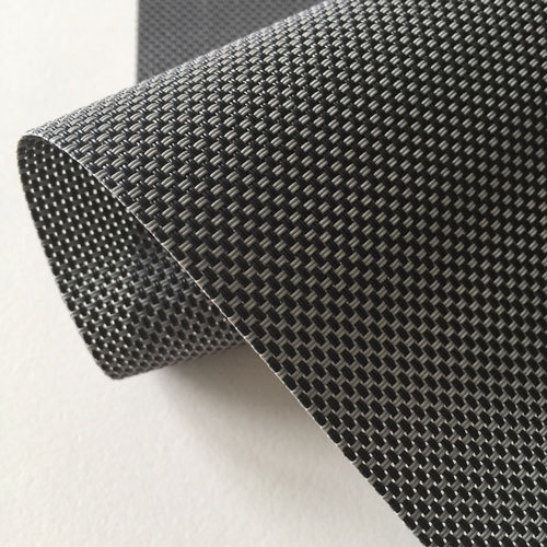 Sun Screen Roller Blind Fabric Charcoal | Quickfit Blinds