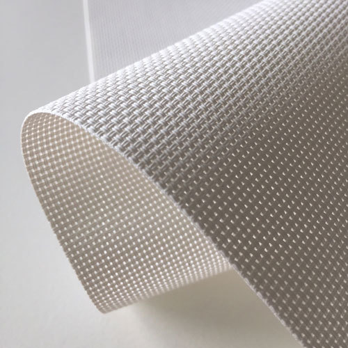 Sunscreen Blind Fabric White | Quickfit Blinds