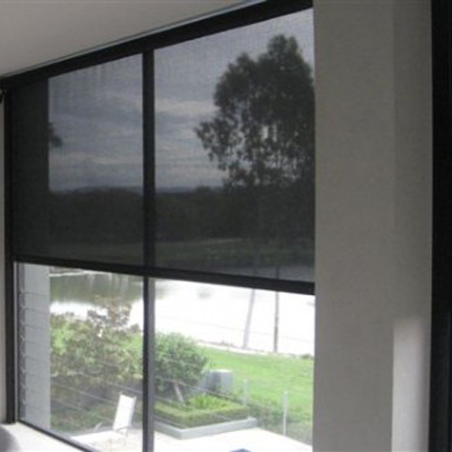 Black Sunscreen Roller Blind | Quickfit Blinds and Curtains